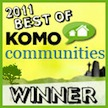 2011 Best of Komo Communities Winner!